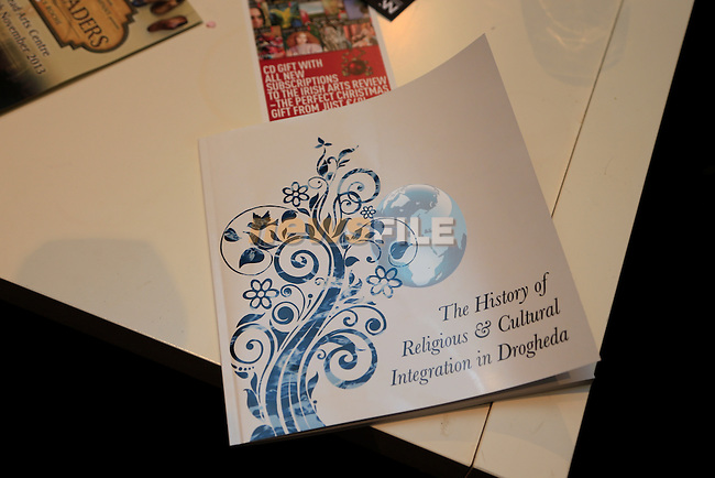at the launch of the Drogheda Civic Trust book in Drogheda Arts centre.<br /> Picture: Fran Caffrey www.newsfile.ie