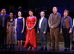 "Tam Mutu, Alexandra Socha, Bebe Neuwirth, Vanessa Williams,  Joel Grey, Bob Martin, Carolee Carmello during the final performance curtain call for the New York City Center Encores! at 25 production of  ""Hey, Look Me Over!"" on February 11, 2018 at the City Center Theatre in New York City."