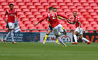 Scott Wiseman of Salford City shot goes wide during AFC Fylde vs Salford City, Vanarama National League Play-Off Final Football at Wembley Stadium on 11th May 2019