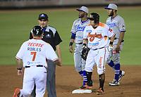Carlos Gastelum, durante la apertura de la temporada de beisbol de la Liga Mexicana del Pacifico 2017 2018 con el partido entre Naranjeros vs Yaquis. 11 octubre2017 . <br /> (Foto: Luis Gutierrez /NortePhoto.com)