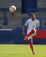 Jay DaSilva (Chelsea) of England U19 during the International match between England U19 and Netherlands U19 at New Bucks Head, Telford, England on 1 September 2016. Photo by Andy Rowland.