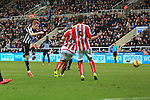 Jack Colback of Newcastle United scores the opening goal - Newcastle United vs. Stoke City - Barclay's Premier League - St James' Park - Newcastle - 08/02/2015 Pic Philip Oldham/Sportimage