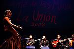 Semifinal del Festival de Cante de las Minas de La Union. La Union. Murcia.