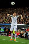 UEFA Champions League 2017/2018.<br /> Quarter-finals 1st leg.<br /> FC Barcelona vs AS Roma: 4-1.<br /> Aleksandar Kolarov.