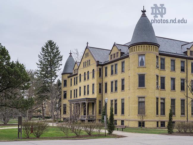 Apr. 8, 2015; Sorin College. (Photo by Matt Cashore/University of Notre Dame)
