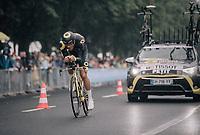Adrien Petit (FRA/Direct Energie)<br /> <br /> 104th Tour de France 2017<br /> Stage 1 (ITT) - Düsseldorf › Düsseldorf (14km)