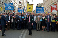 Roma, 23 Ottobre 2012.Manifestazione nazionale per la difesa e la dignità del ruolo dell'avvocato e in difesa dei diritti del cittadino e della costituzione.