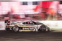 Night action, #5 Corvette DP, João Barbosa, Sébastien Bourdais, Christian Fittipaldi  12 Hours of Sebring, Sebring International Raceway, Sebring, FL, March 2015.  (Photo by Brian Cleary/ www.bcpix.com )