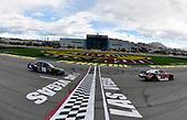 #20: Christopher Bell, Joe Gibbs Racing, Toyota Supra Rheem/Smurfit Kappa and #18: Kyle Busch, Joe Gibbs Racing, Toyota Supra Extreme Concepts/iK9
