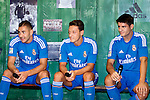 Presentation of the second Real Madrid Kit for the season 2013-2014. July 25, 2013. Foto ¬© nph / Adrian P. Rincon)<br /> Karim Benzema, Mesut Oezil / √Ėzil√Ölvaro Morata *** Local Caption ***