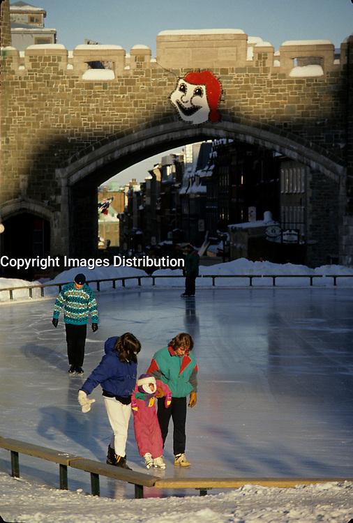 Quebec (Qc) CANADA - File Photo circa 1997 -