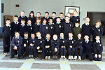 5th Class Laytown N.S. Back Row L/R, Lizzie Scully, Jessica Grant, Shauna McLoughlin, Darren Cagney, Niall Black, Christopher Curran, Adam Channing and Natasha Farrell. Middle row L/R, Stephen Watson, Jonathon Tuffy, Paul Kirwin, Fiona Kelly, Lindsey Gibbons, Amy Collier, Graham Reilly, Alan Cremin, Elizabeth McAuley, Cornelius Vanstrien, James Fox and Lorraine Nulty. Front Row L/R, Stephen O'Reilly, Jamie Rouse, Christopher Mahon, Simon Hageman, Mark Lennon, Louise crosby, Frances behan, Alison Daly, Michelle Carvey, Connor Stanley and Thomas Allaiouti..Picture Paul Mohan Newsfile