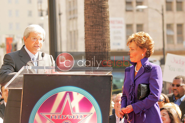 Judge Jerry Sheindlin and Judge Judy Sheindlin<br />at the Ceremony honoring Judge Judy Sheindlin with a star on the Hollywood Walk of Fame. Hollywood Boulevard, Hollywood, CA. 02-14-06