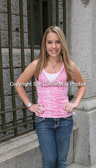 Kristen Alderson at the OLTL Studios, New York City, New York. (Photo by Sue Coflin/Max Photos)