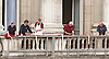 "QUEEN CELEBRATES DIAMOND JUBILEE.Workmen prepare to drape the balcony of Buckingham Palace for the Finale of the 4 day Diamond Jubilee Celebration.  London_05/06/2012.Mandatory Credit Photo: ©SB/NEWSPIX INTERNATIONAL..**ALL FEES PAYABLE TO: ""NEWSPIX INTERNATIONAL""**..IMMEDIATE CONFIRMATION OF USAGE REQUIRED:.Newspix International, 31 Chinnery Hill, Bishop's Stortford, ENGLAND CM23 3PS.Tel:+441279 324672  ; Fax: +441279656877.Mobile:  07775681153.e-mail: info@newspixinternational.co.uk"