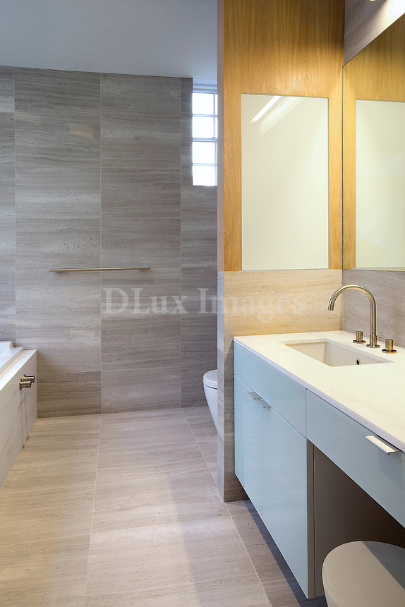 modern bathroom worktop