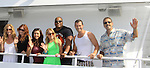 Actors - Walt Willey, Eric Martsolf, Kristen Alderson, Lindsey Morgan,  Melissa Archer, Sean Ringgold, Susan Haskell pose at SoapFest's Celebrity Weekend - Cruisin' and Schmoozin' on the Marco Island Princess - mix and mingle and watching dolphins - autographs, photos, live auction raising money for kids on November 11, 2012 Marco Island, Florida. (Photo by Sue Coflin/Max Photos)