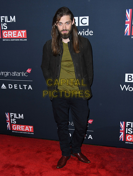 02 March 2018 - Los Angeles, California - Tom Payne. Film is GREAT Reception to honor British Nominees held at a Private Residence. <br /> CAP/ADM/BT<br /> &copy;BT/ADM/Capital Pictures