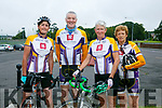 At the Na Gaeil Cycle on Saturday were Siobhan Clear, David Elton, Aileen Clifford and Jennifer Crowley
