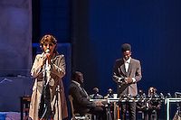 Roma, Teato Argentina, 28/06/2016. Prima teatrale di Respiro. Uno spettacolo di  Riccardo Vannuccini<br /> realizzato da Artestudio con i rifugiati provenienti dall&rsquo; Africa del CARA di Castelnuovo di Porto.