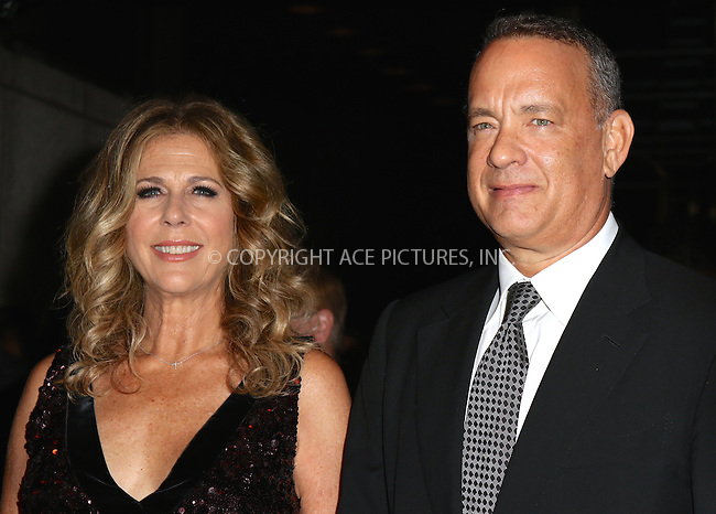 www.acepixs.com<br /> <br /> September 7 2016, New York City<br /> <br /> Rita Wilson and Tom Hanks attending the Tom Ford fashion show during New York Fashion Week on September 7, 2016 in New York City.<br /> <br /> By Line: Nancy Rivera/ACE Pictures<br /> <br /> <br /> ACE Pictures Inc<br /> Tel: 6467670430<br /> Email: info@acepixs.com<br /> www.acepixs.com