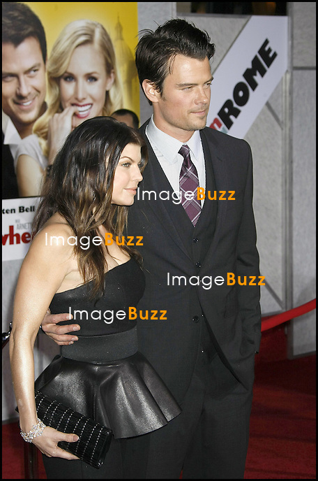 "PREMIERE DU FILM ""WHEN IN ROME"" AU EL CAPITAN THEATRE A HOLLYWOOD. "" WHEN IN ROME "" MOVIE PREMIERE AT THE EL CAPITAN  THEATRE IN HOLLYWOOD..LOS ANGELES, JANUARY 27, 2010...Pic :  Fergie & Josh Duhamel"