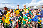 Adrian and Killian Spillane with fans at the Kerry GAA Open Day Meet and Greet, at Fitzgerald Stadium, Killarney on Saturday last.
