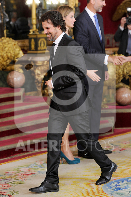 Spanish actor Rodolfo Sancho during the Spain's National Day Royal Reception at Royal Palace on October 12, 2014 in Madrid, Spain. October 12 ,2014. (ALTERPHOTOS/Pool)