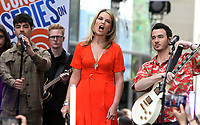 June 07, 2019  Jenna Bush, Joe Jonas, Savannah Guthrie, at Today Show Concert Series to perform,  talk about new album Happiness Begins and tour in New York June 07, 2019   <br /> CAP/MPI/RW<br /> ©RW/MPI/Capital Pictures