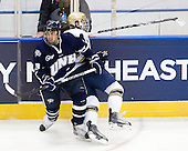 Austin Block (UNH - 3), Mike Voran (Notre Dame - 16) - The University of Notre Dame Fighting Irish defeated the University of New Hampshire Wildcats 2-1 in the NCAA Northeast Regional Final on Sunday, March 27, 2011, at Verizon Wireless Arena in Manchester, New Hampshire.