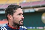 17 November 2007: Jay Heaps. The New England Revolution practiced at RFK Stadium in Washington, DC one day before playing in MLS Cup 2007, Major League Soccer's championship game.