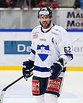 Södertälje 2013-02-02 Ishockey Allsvenskan , Södertälje SK - BIK Karlskoga :  .BIK Karlskoga 62 Daniel Wessner reagerar.(Foto: Kenta Jönsson) Nyckelord:  arg förbannad ilsk ilsken sur tjurig angry