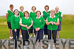 TEAM; Tralee team on Sunday who played in the Intermediate Golf tourement at Tralee Golf Club,Front l-r: Fiona Lally, Angelia Deenihan (lady capt), Joan Kelly (lady president) and Maria MCGrath. Back l-r: Catherine MCCarthy, Ber Collins, Joan Costello, Philomena Stack and Nora Quinlan.