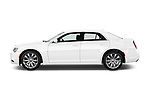 Car driver side profile view of a 2018 Chrysler 300 Limited 4 Door Sedan