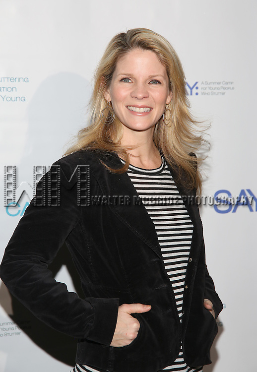 Kelli O'Hara attends the 5th Annual Paul Rudd All-Star Bowling Benefit for (SAY) at Lucky Strike Lanes on February 13, 2017 in New York City.