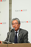 Tsunekazu Takeda, March 26, 2014 : a press conference of Tokyo Organizing Committee of the Olympic and Paralympic Games <br /> in Tokyo, Japan. (Photo by Yohei Osada/AFLO SPORT)