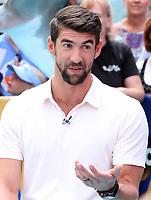 JUL 20 Michael Phelps  at Good Morning America