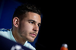 Atletico de Madrid Lucas Hernandez during press conference the day before UEFA Champions League match between Atletico de Madrid and Borussia Dortmund at Wanda Metropolitano in Madrid, Spain.November 05, 2018. (ALTERPHOTOS/Borja B.Hojas)