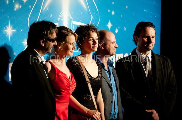 The cast of De Rodenburgs at the Nacht van de Vlaamse Televisiesterren in Hasselt (Belgium, 06/03/2010)