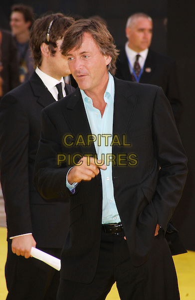 "RICHARD MADELEY.The Simpsons Movie"" UK premiere at the Vue O2 Arena cinema, London, England. .July 25th, 2007.half length black suit jacket hand .CAP/ROS.©Steve Ross/Capital Pictures"