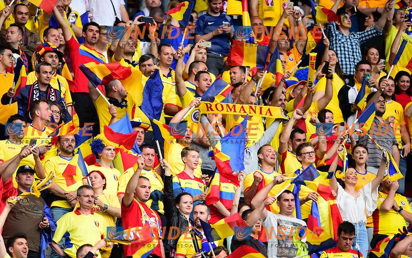 Tifosi Romania <br /> Paris 10-06-2016 Stade de France football Euro2016 France - Romania  / Francia - Romania Group Stage Group A. Foto Federico Pestellini / Panoramic / Insidefoto