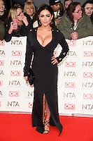 Casey Batchelor at the National TV Awards 2017 held at the O2 Arena, Greenwich, London. <br /> 25th January  2017<br /> Picture: Steve Vas/Featureflash/SilverHub 0208 004 5359 sales@silverhubmedia.com