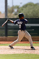 Jeudy Valdez - San Diego Padres 2009 Instructional League.Photo by:  Bill Mitchell/Four Seam Images..