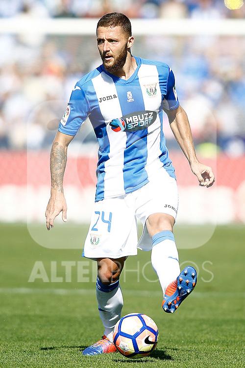 CD Leganes' David Timor during La Liga match. October 15,2016. (ALTERPHOTOS/Acero)