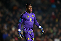 Fabrice Ondoa of Cameroon and Oostende during Brazil vs Cameroon, International Friendly Match Football at stadium:mk on 20th November 2018