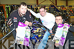 REV-UP 4 DSI: Launching the 2nd Annual Dyno Day in aid of Down Syndrome Ireland to be held on the 26th of February at O'Neills Power Equipment Clash, Tralee l-r: John McElligott, Mark Ennis and Tom Dolan.