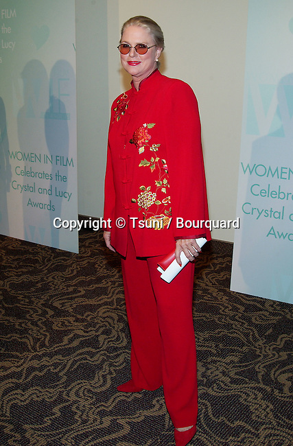 Sharon Gless arriving at the Women In Film, The Crystal and Lucy Awards at the Century Plaza in Los Angeles. September 20, 2002.
