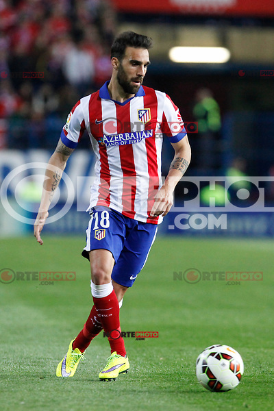 Atletico de Madrid´s Jesus Gamez during La Liga match at Vicente Calderon stadium in Madrid, Spain. April 07, 2015. (ALTERPHOTOS/Victor Blanco) /NORTEphoto.com