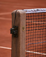 France, Paris, 04.06.2014. Tennis, French Open, Roland Garros,  Netpost<br /> Photo:Tennisimages/Henk Koster