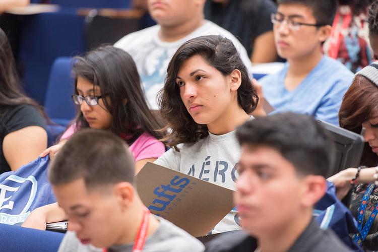 Houston ISD EMERGE students tour Tufts University, June 2, 2014.